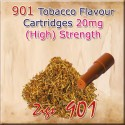 High Tobacco Mk3 Nicotine Cartridges for 901 Ecig Colour Brown