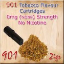 Zero Tobacco Mk3 Nicotine Cartridges for 901 Ecig Colour Black