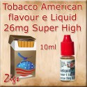 AMERICAN Tobacco Flavour E Liquid 26mg Nicotine 10ml bottle