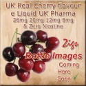 CHERRY Flavour E Liquid made in the UK in all strengths and two sizes of bottles