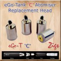 eGo-C Tank atomiser coil head not supplied with kit