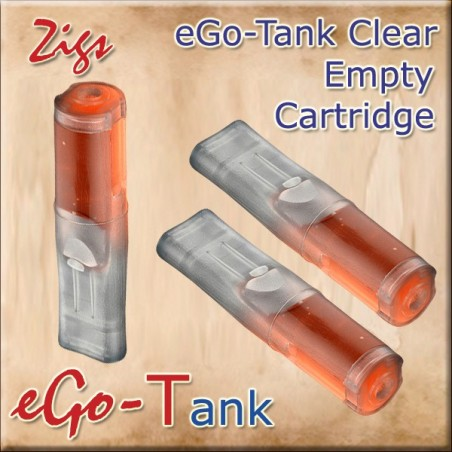 Ego-T Tank Clear Empty Cartridge 1.1ml Box of 5