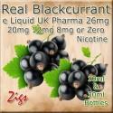 BLACKCURRANT Flavour E Liquid 26mg 20mg 12mg 8mg & zero nicotine 30ml & 10ml bottles