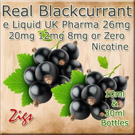 BLACKCURRANT UK E Liquid