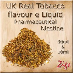 Tobacco Flavour E Liquids 26mg 20 mg 12mg 8mg Zero Nicotine in 30ml & 10ml Sizes