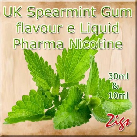 SPEARMINT GUM UK E Liquid