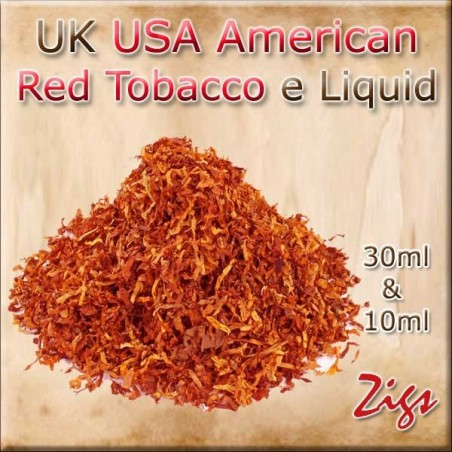 USA American Red Tobacco UK E Liquid