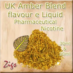 AMBER BLEND E Liquid - A light, sweet Virginian flavour rolling tobacco.
