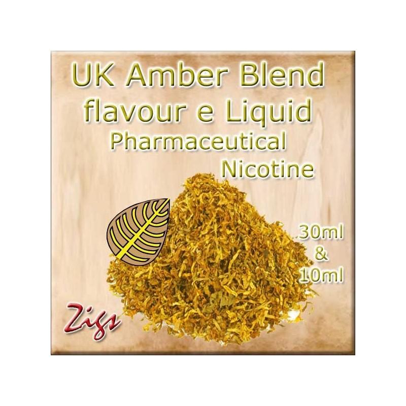 AMBER BLEND E Liquid - A light, sweet Virginian flavour rolling tobacco.