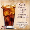 KOLA E Liquid - Same great real cola flavour and tang, without the caffeine.