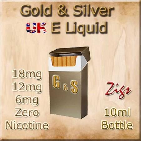 GOLD & SILVER TOBACCO E Liquid