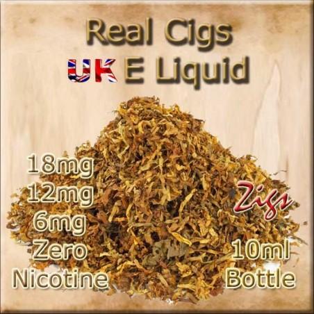 REAL CIGS E Liquid