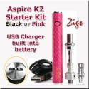 K2 ASPIRE QICK START KIT COMPONENTS