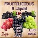 FRUITILICIOUS Grape and blackcurrant full fruit flavoured E Liquid