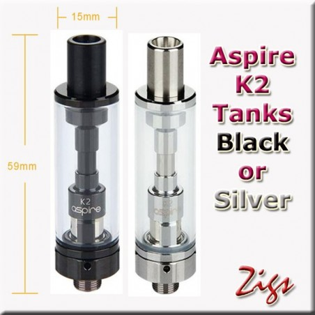ASPIRE K2 Tanks
