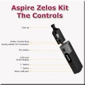 Zelos 50 watt sub ohm controls and buttons