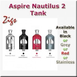 Aspire Nautilus 2 Tank in four colours