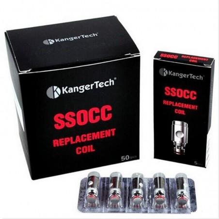 KangerTech SSOCC Coils Head Replacement Genuine not CLONE