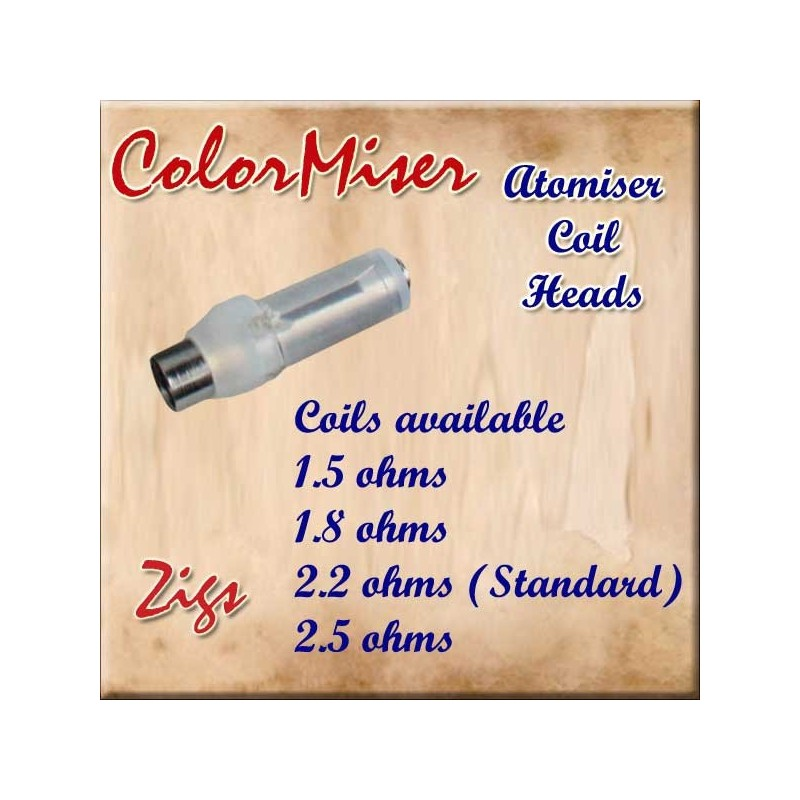 Clearomizer atomiser T2 coil heads for T2 colormisers